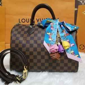 💯%authentic Louis Vuitton speedy 30 Bandouliere